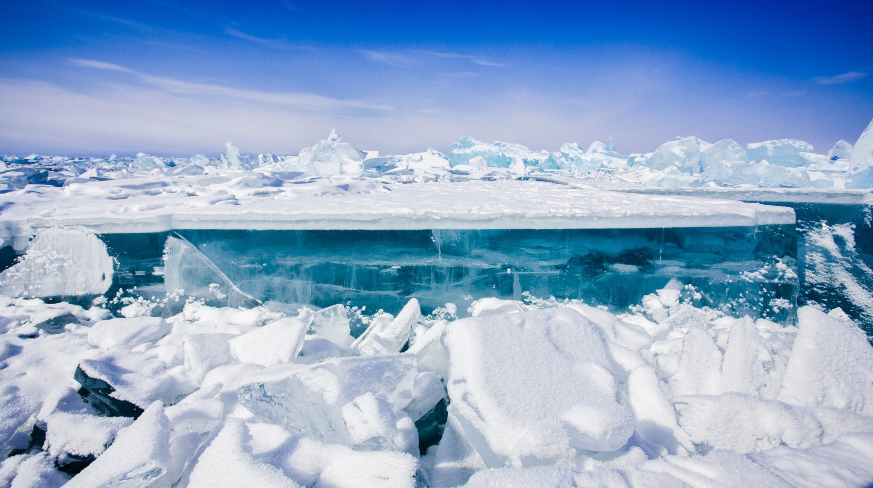 лед, Байкал, зима, озеро, Ольхон, Иван Куликов