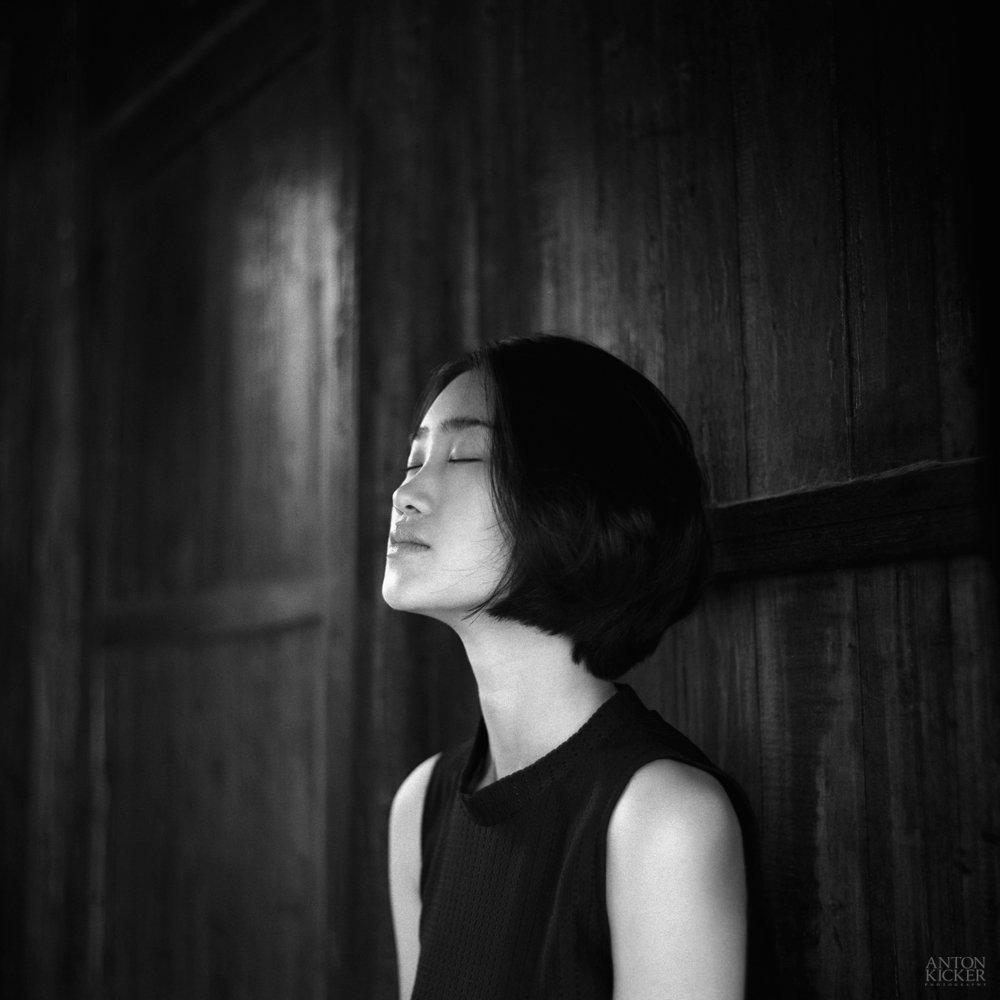 6x6, Bw, China, Film, Girl, Mediumformat, Антон Кикер