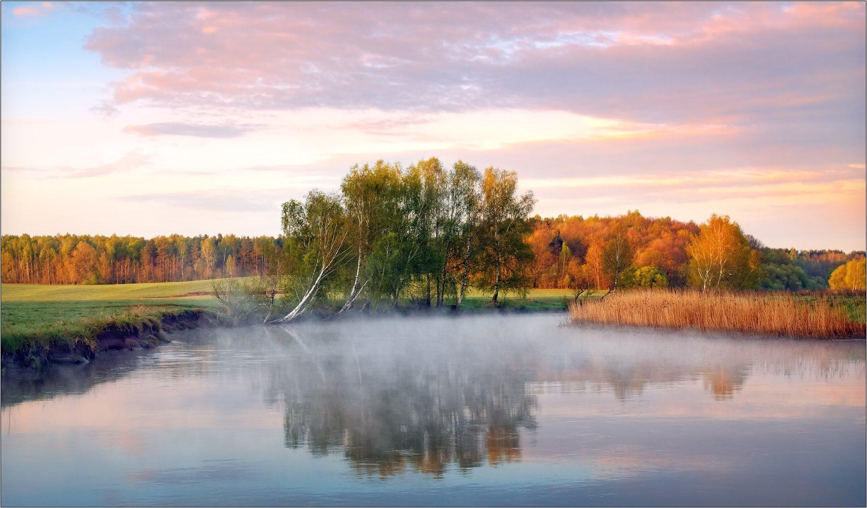 весна 2013, река, утро, Сергей Шабуневич