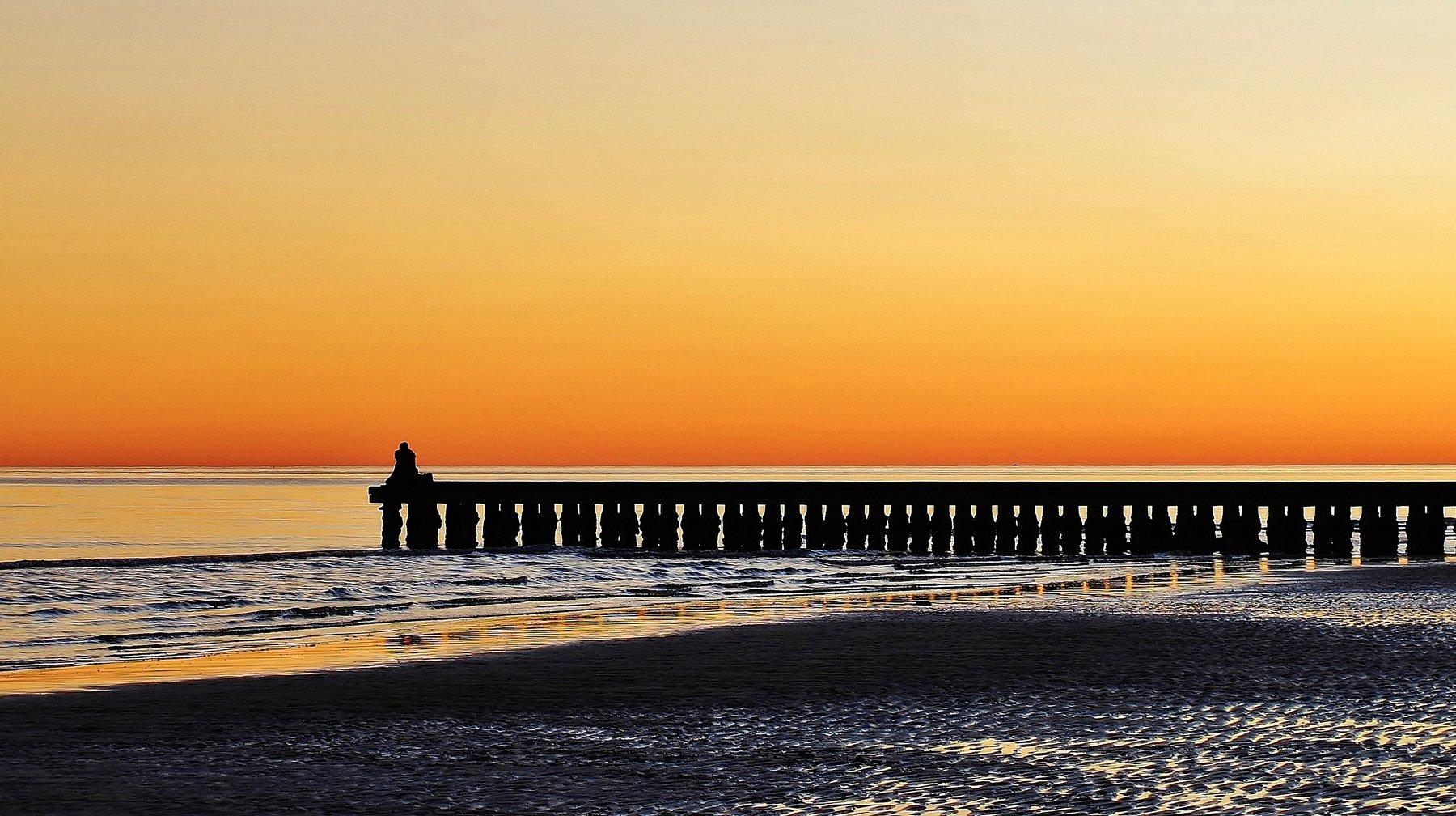 pontile,mare,sabbia,acqua,paesaggio,giallo, paologr63