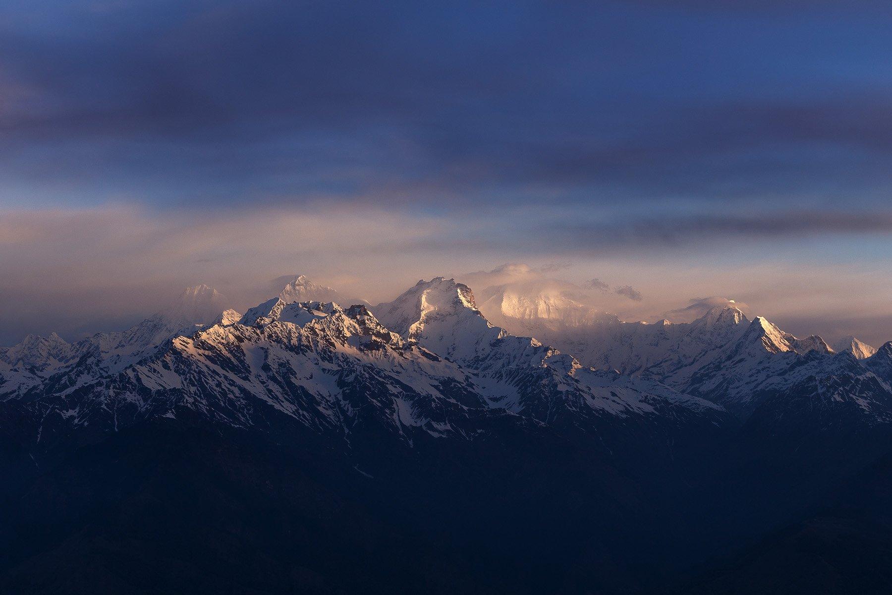 горы, непал, пейзаж, природа, рассвет, Купрацевич Дмитрий