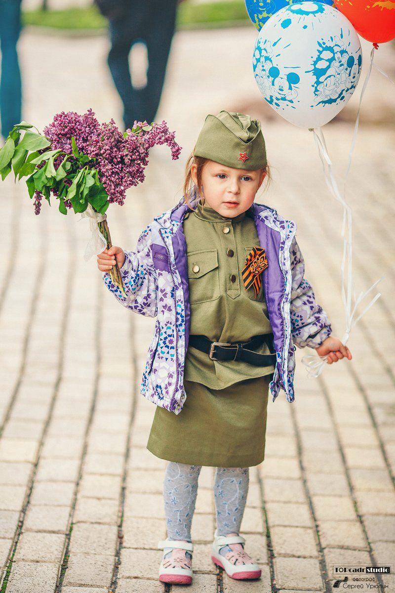 9 мая, День Победы, Донецк, Портрет, Сергей Урюпин