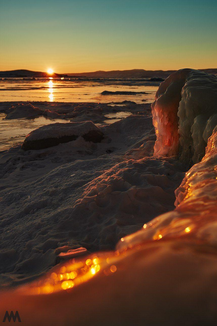 россия, байкал, ольхон, лед, озеро, красота, сибирь, природа, пейзаж, Михаил Минков