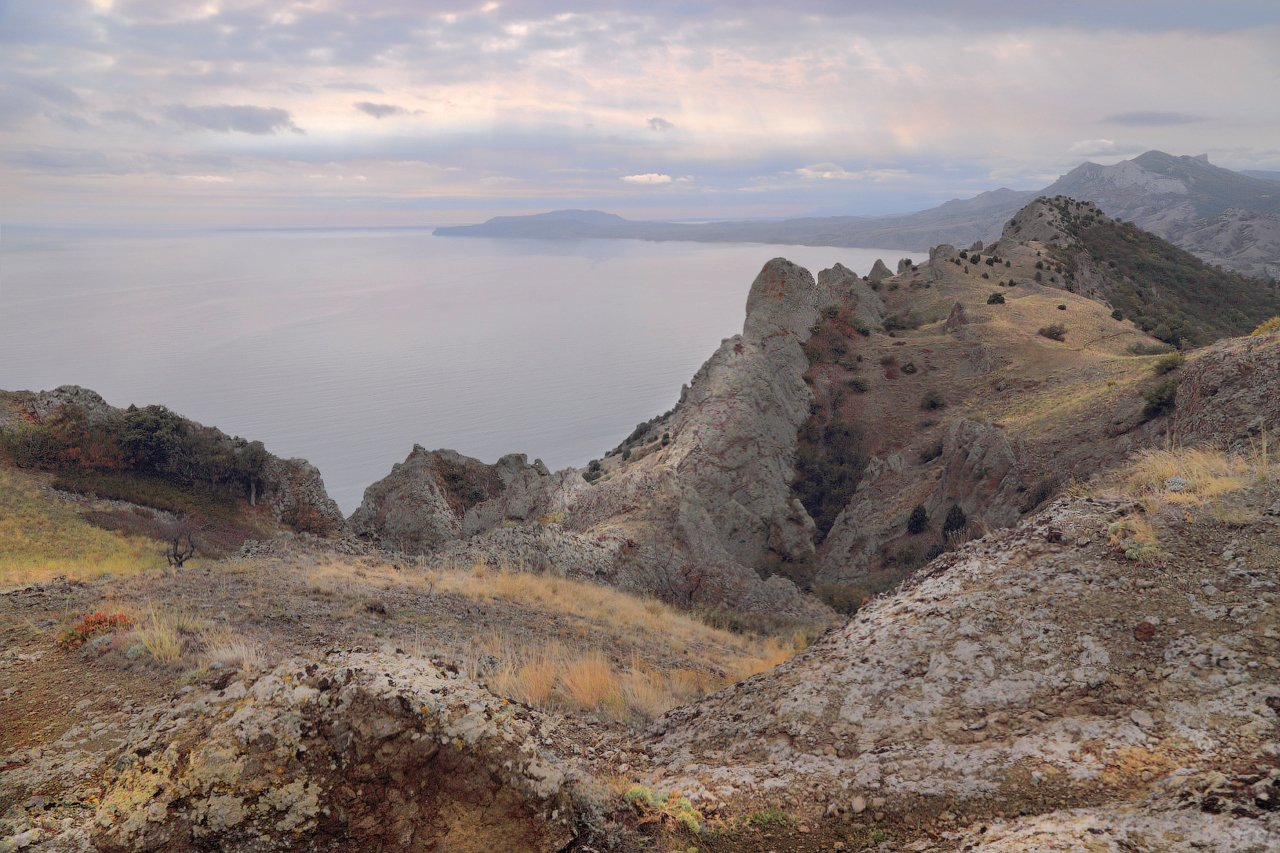 горы, крым, море, черное море, Виктор Климкин