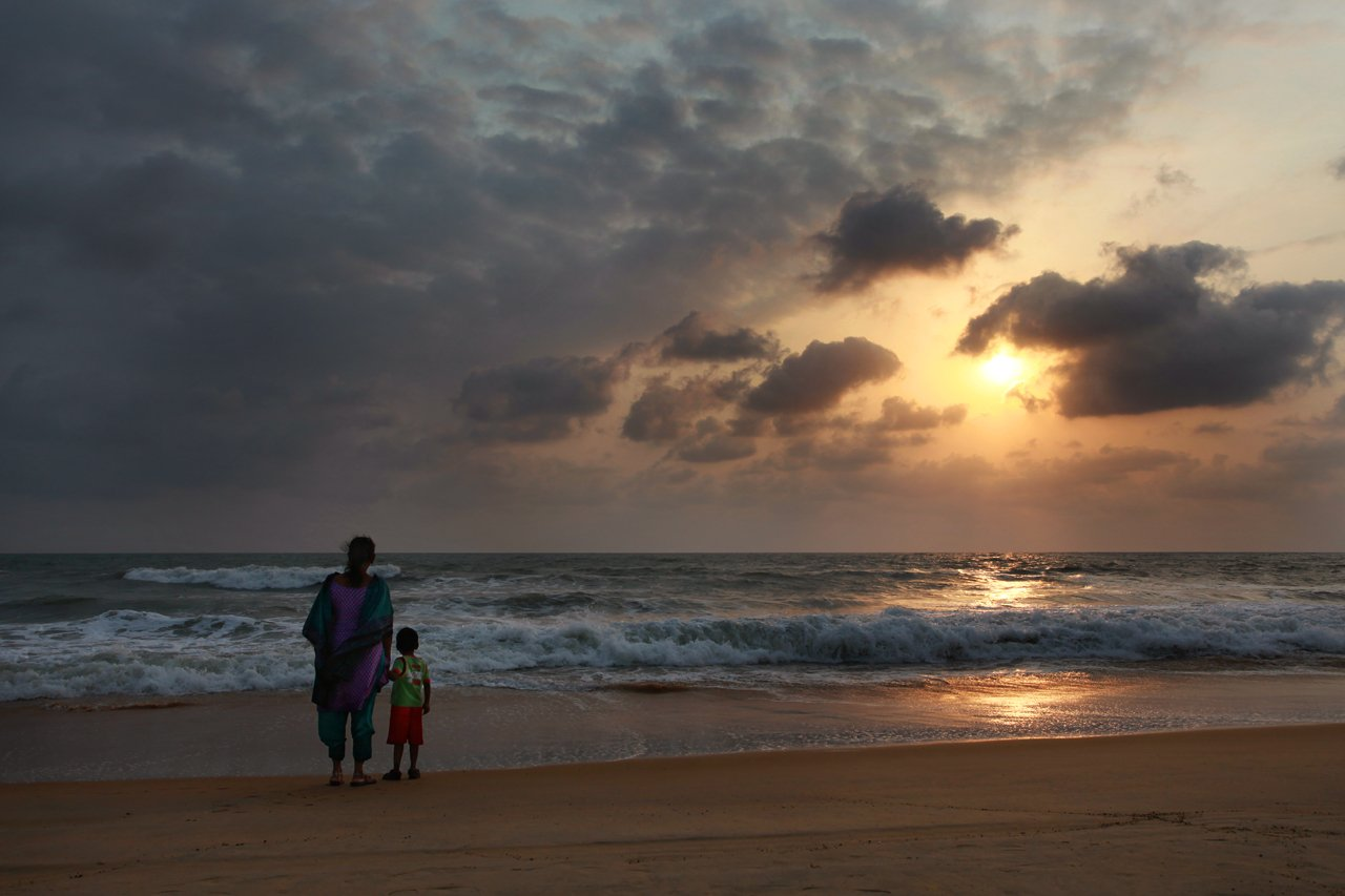 india, goa, beach, sunset, пляж, индия, гоа, закат, Rzyanin Alexey