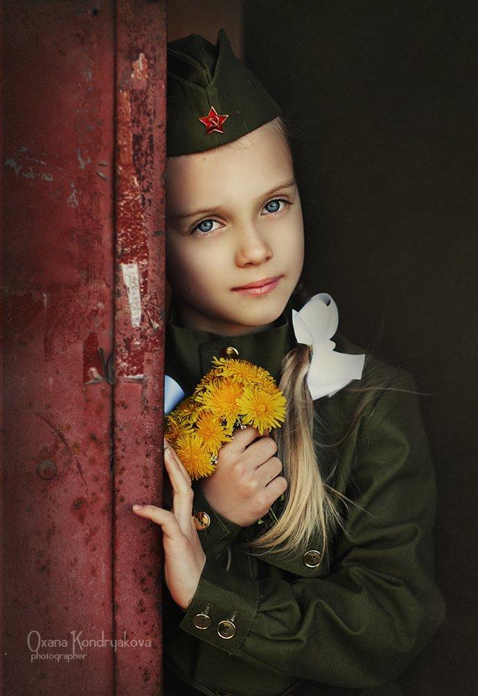 дети, война, 9 мая, день победы., Кондрякова Оксана