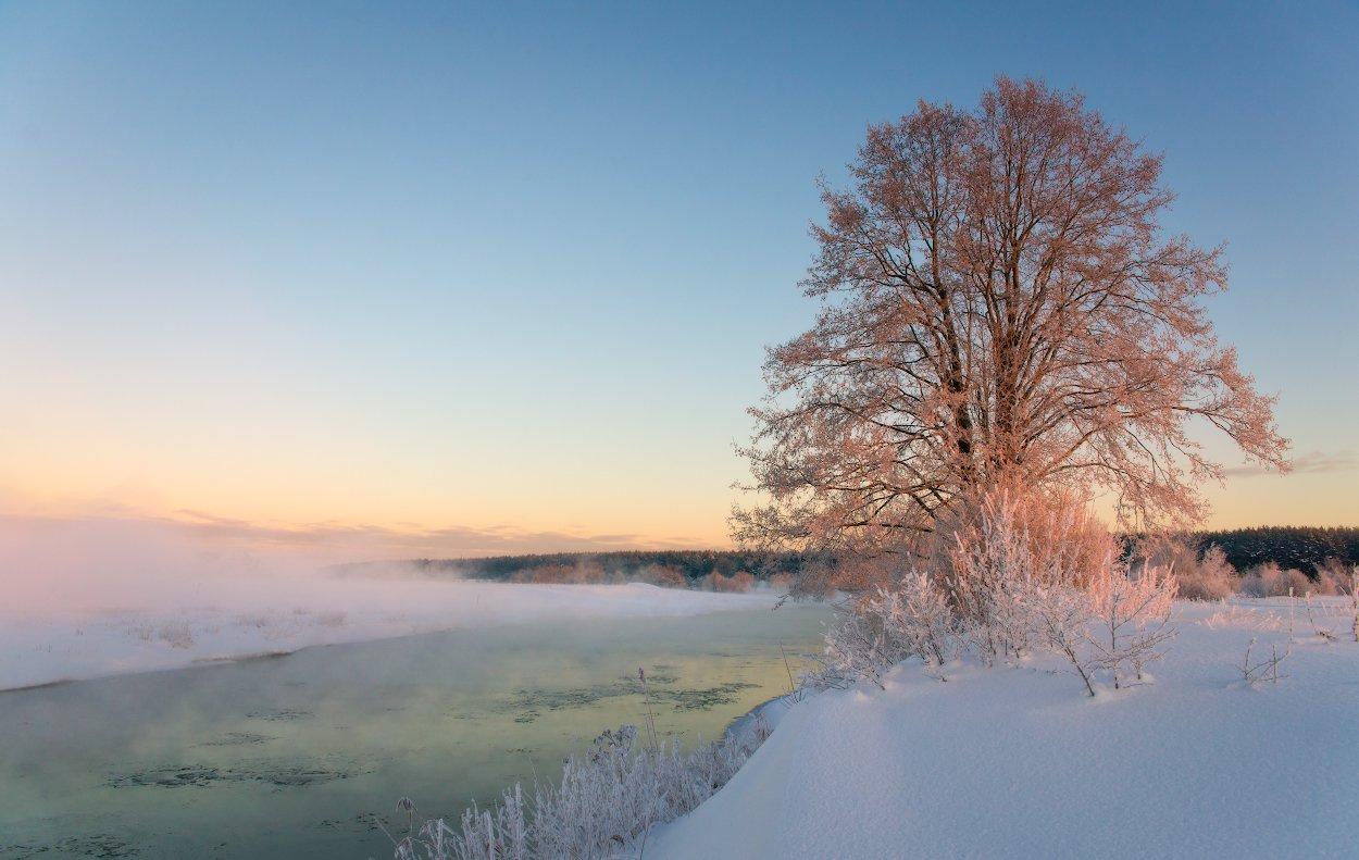 зима,мороз,снег,лед,холод,клязьма,сони, sony, Пеккер Сергей
