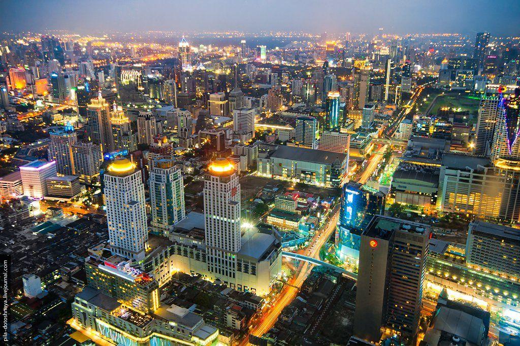 крыша, бангкок, азия, таиланд, , Аня Анюта
