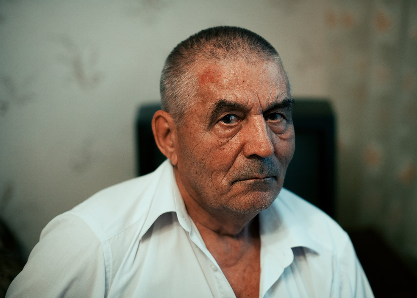 portrait, man, old, Шаренда Никита