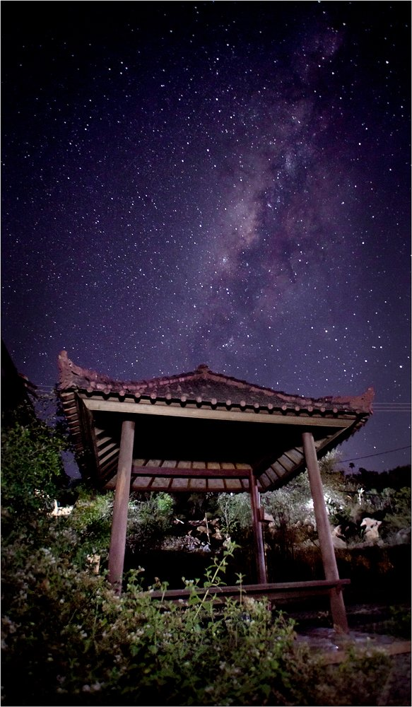 Bali, Bunutan, Indonesia, Milky way, Бали, Индонезия, Олег Федин