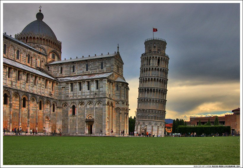 пизанская, башня, италия, Alexis Assa