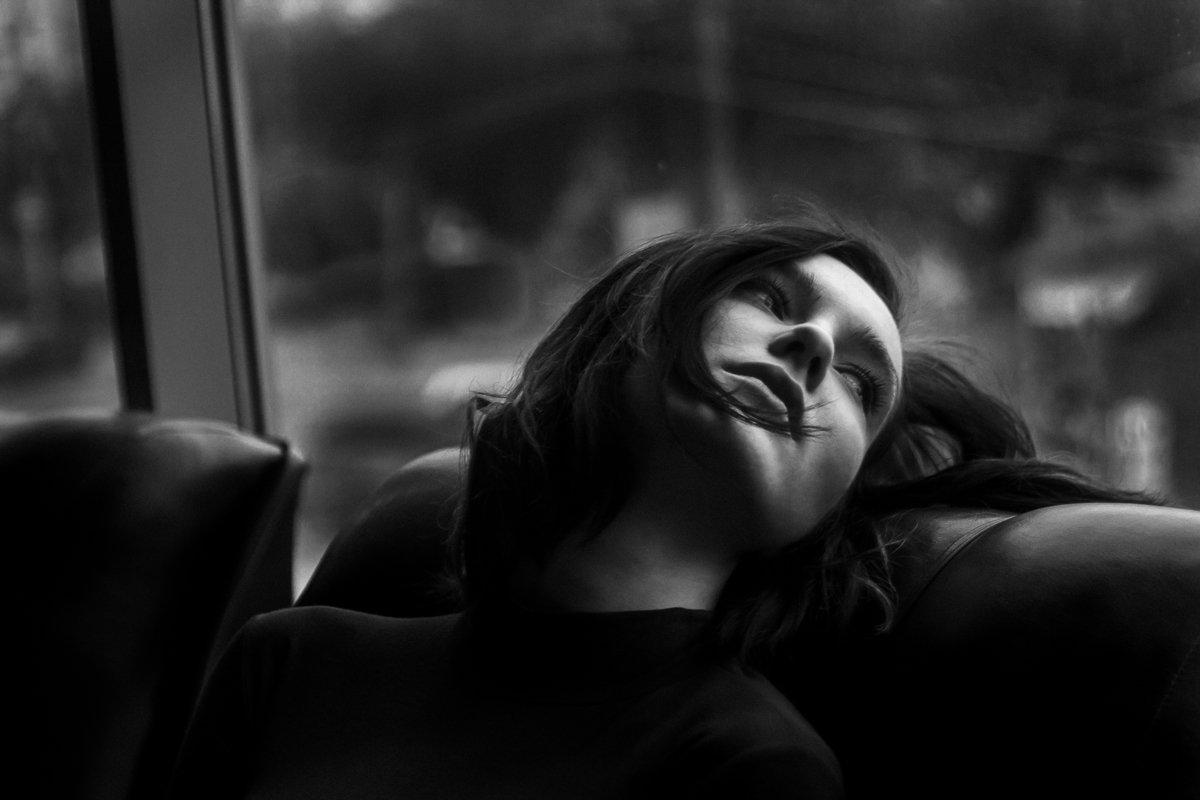 girl, window, rain, Артём Дубровин