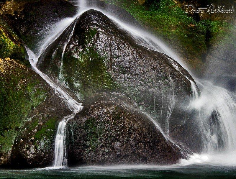 водопад, мексика, Дмитрий Рухленко