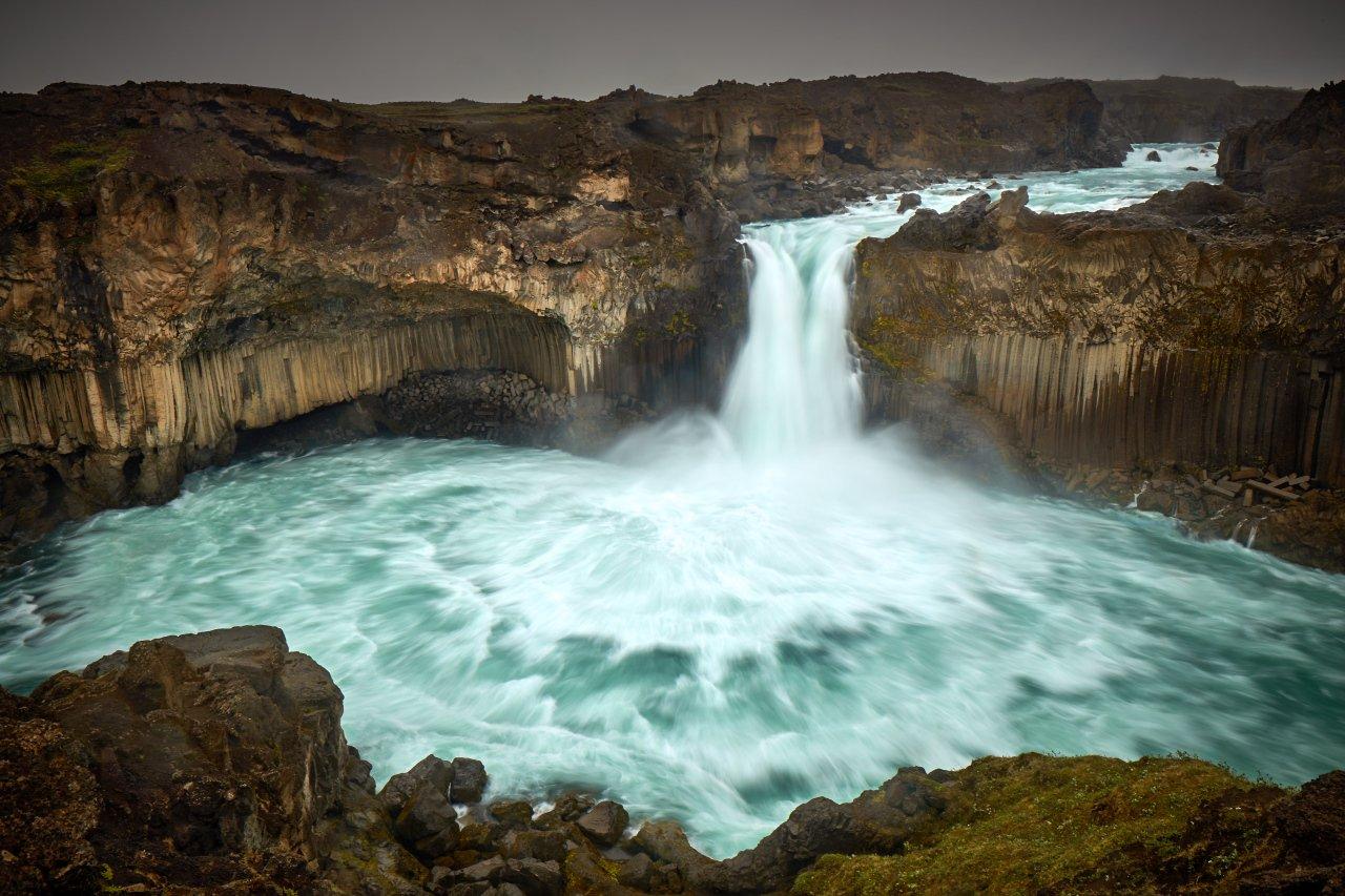 Aldeyjarfoss, waterfall, Iceland, Dirk Juergensen