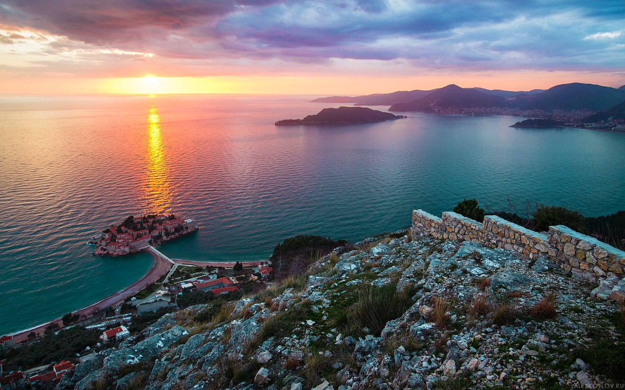 budva,montenegro,nature,sea,landscape, Алексей Котлов