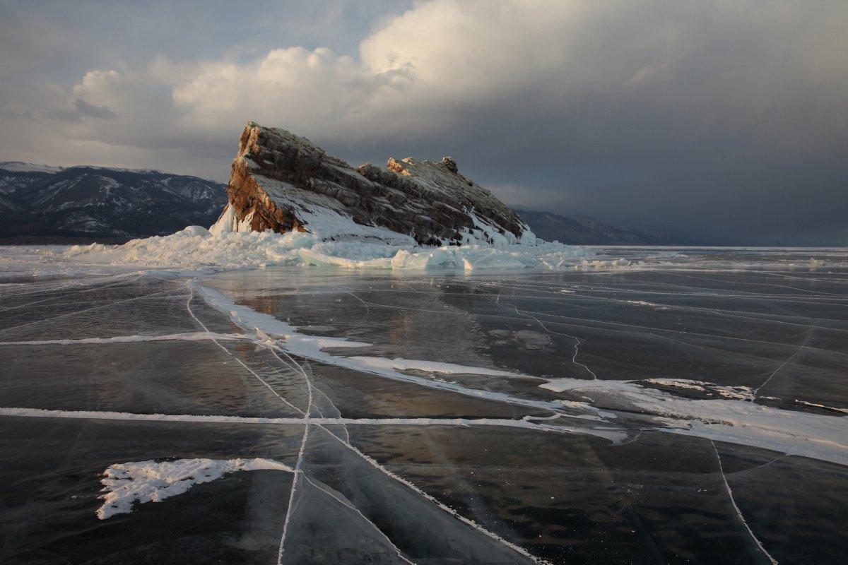 Байкал о.Еленка, Лед, Малое море, Март 2015, Елена Безрядина