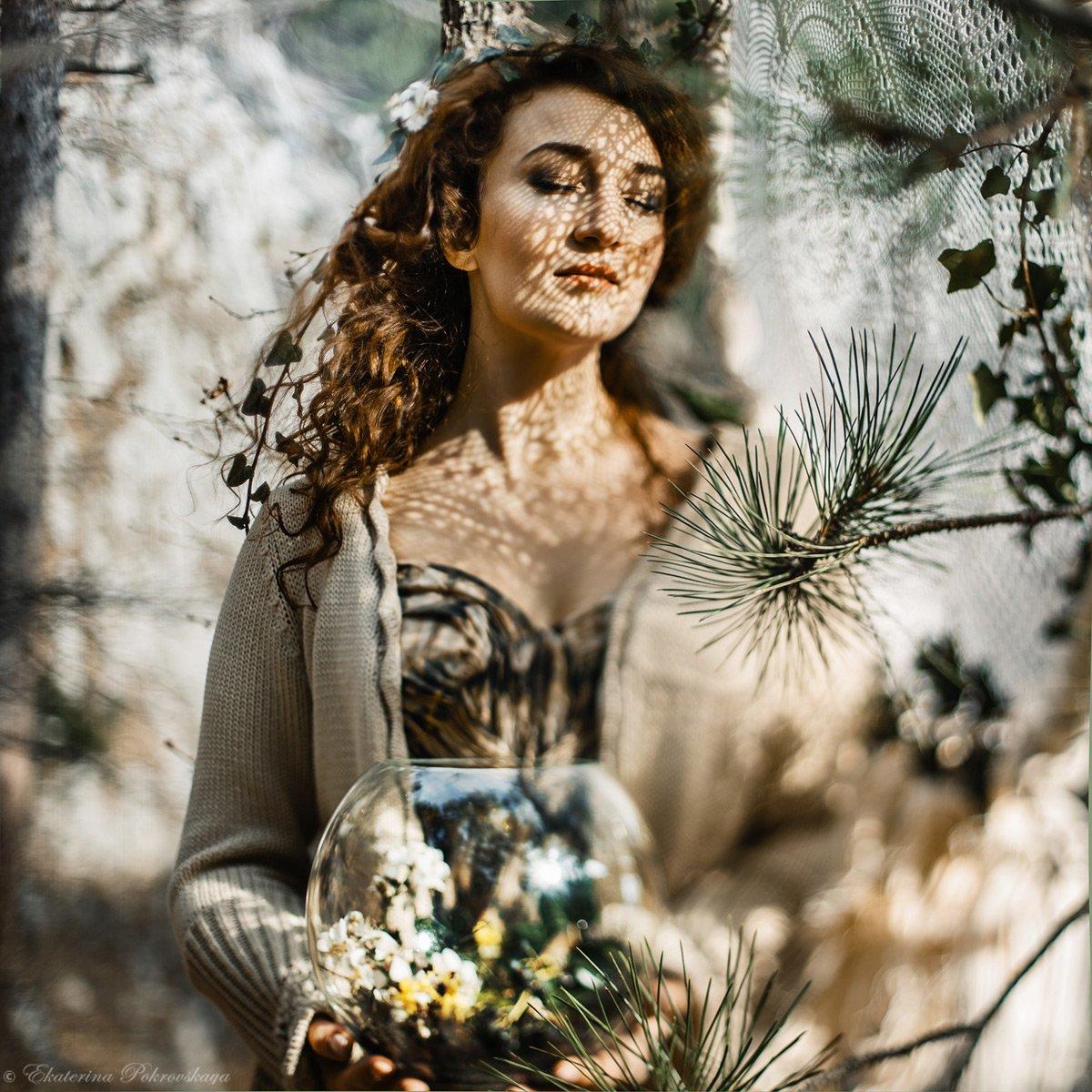 девушка весна тень, Покровская Екатерина