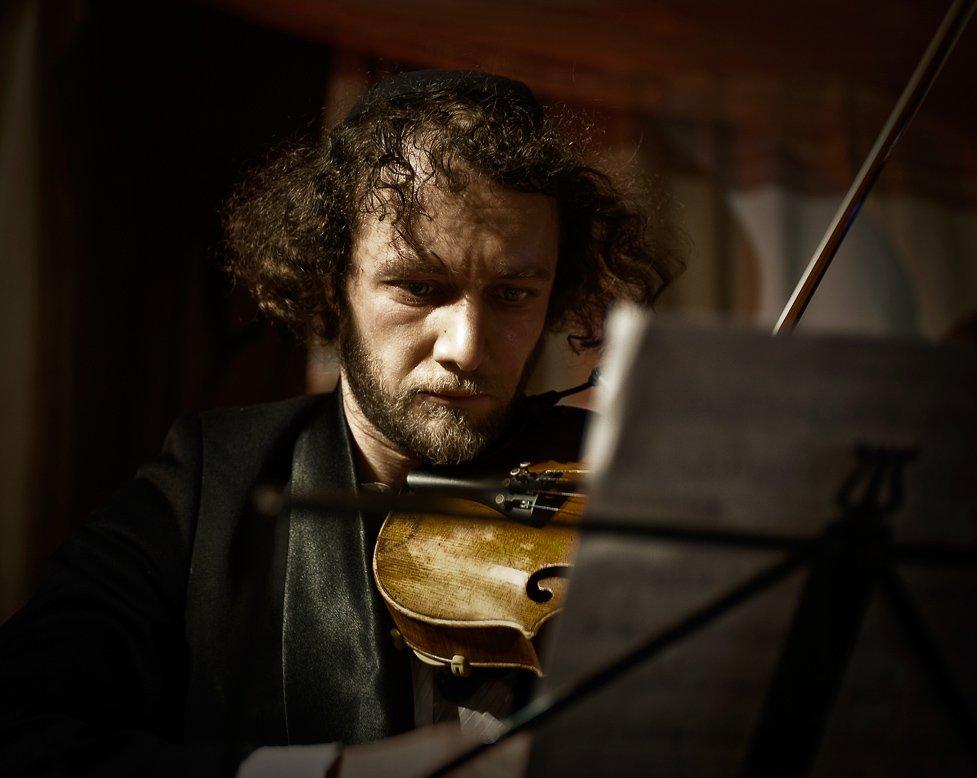 клейзмер, скрипач, праздник, пурим, Макс Шамота