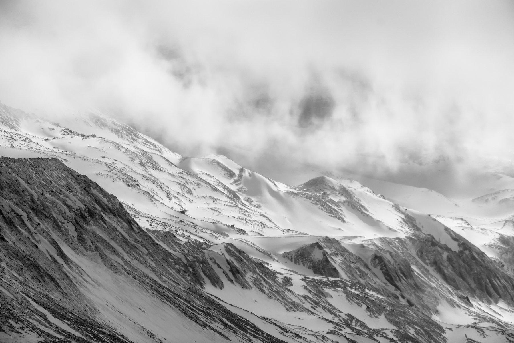 канада, альберта,джаспер, банф, ледник, атабаска, коламбия, горы, зима, лед, снег, холод, Денис Семенов
