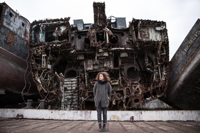 Girl, Graveyard, Rust, Ships, Владимир Галяк