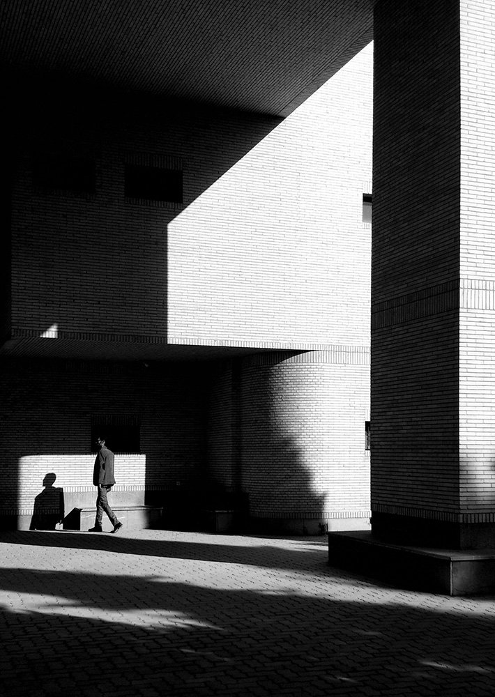 street, shadow, light, bnw,, milad safabakhsh