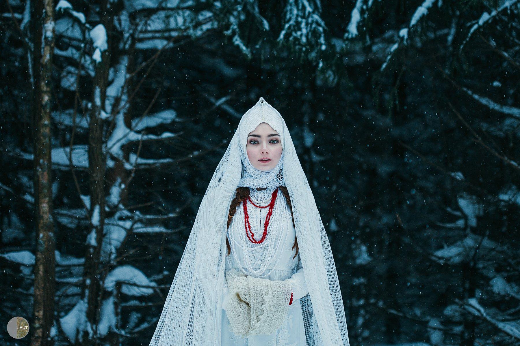 olgalaut портрет лес творческая фотосессия, Лаутъ Ольга
