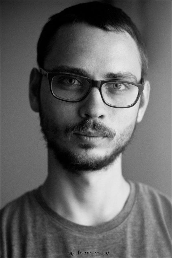 Black and white, Bw, Portrait, Портрет, Чб, Черно-белое, Ronrevuald
