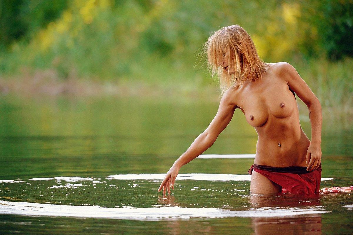 Forest, Lake, Nude, Woods, Akira Enzeru