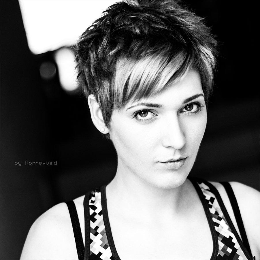 Black & white, Black and white, Bw, Eyes, Girl, Hair, Light, Portrait, Ronrevuald