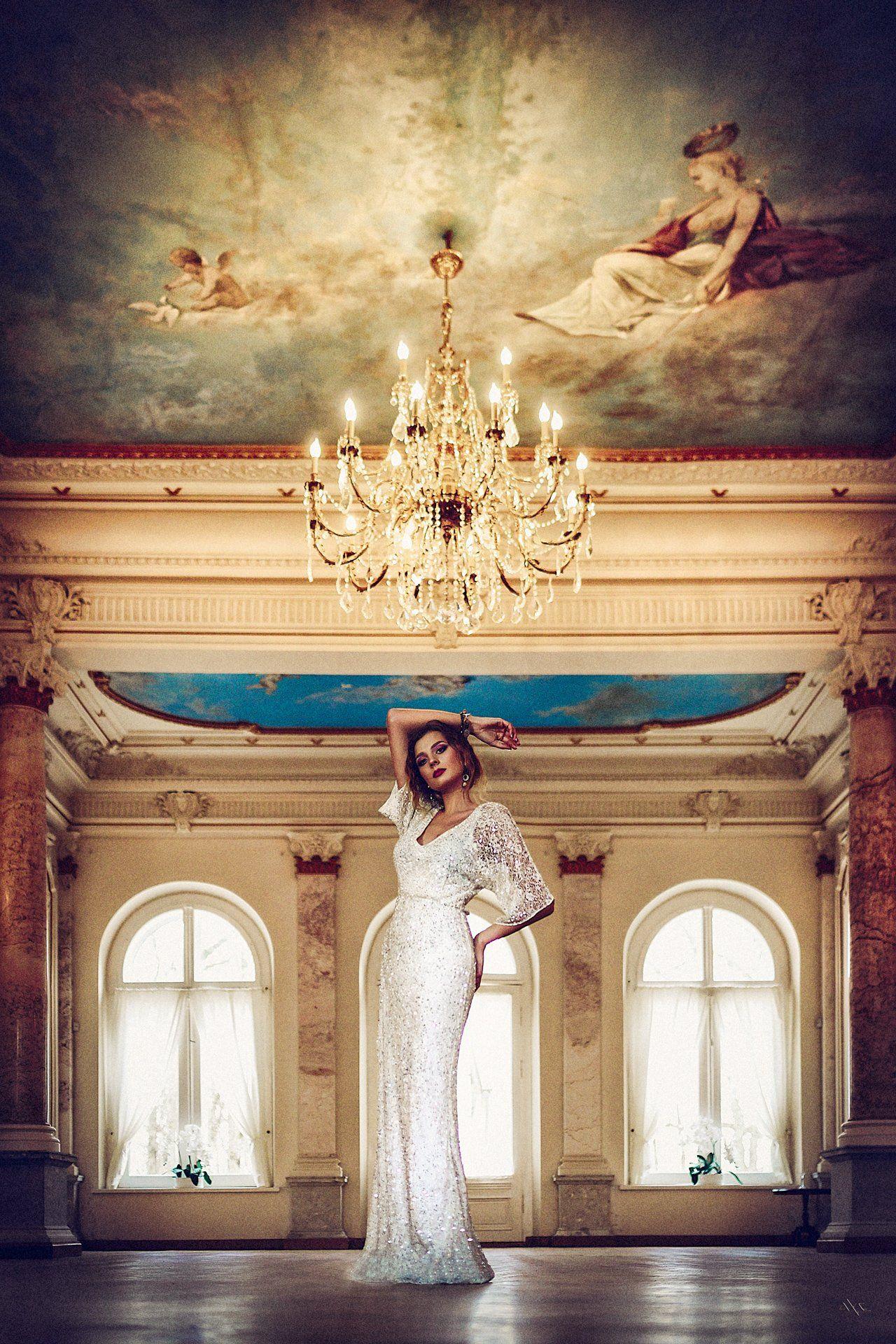 Dress, Lithuania, Old manor, Portrait, Woman, Руслан Болгов (Axe)