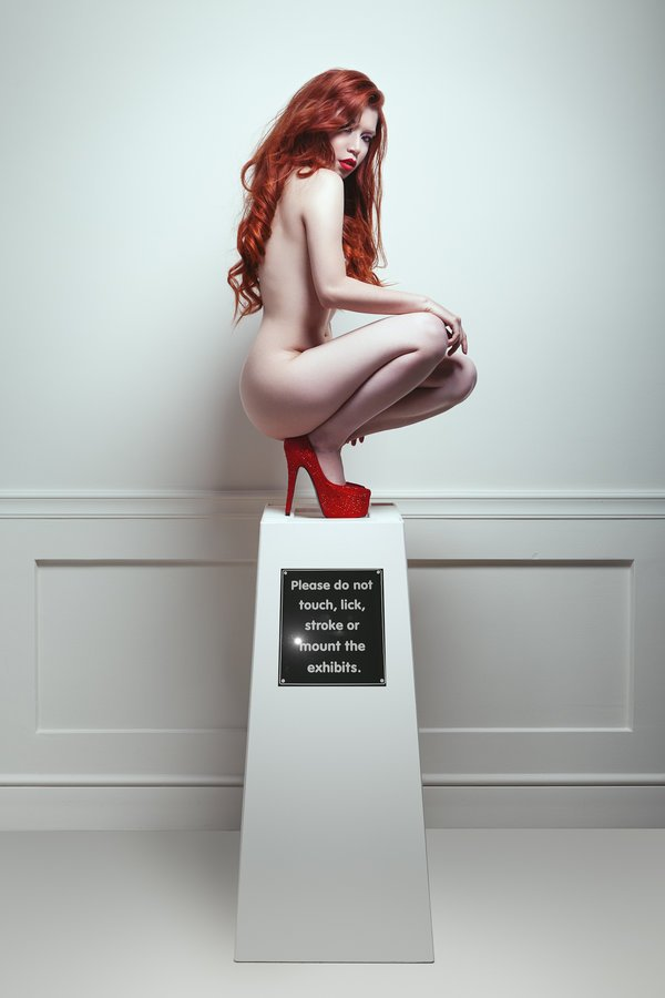 Artnude, Beauty, Carolinemadison, Fatale, Nude, Red hair, Romania, Caroline Madison