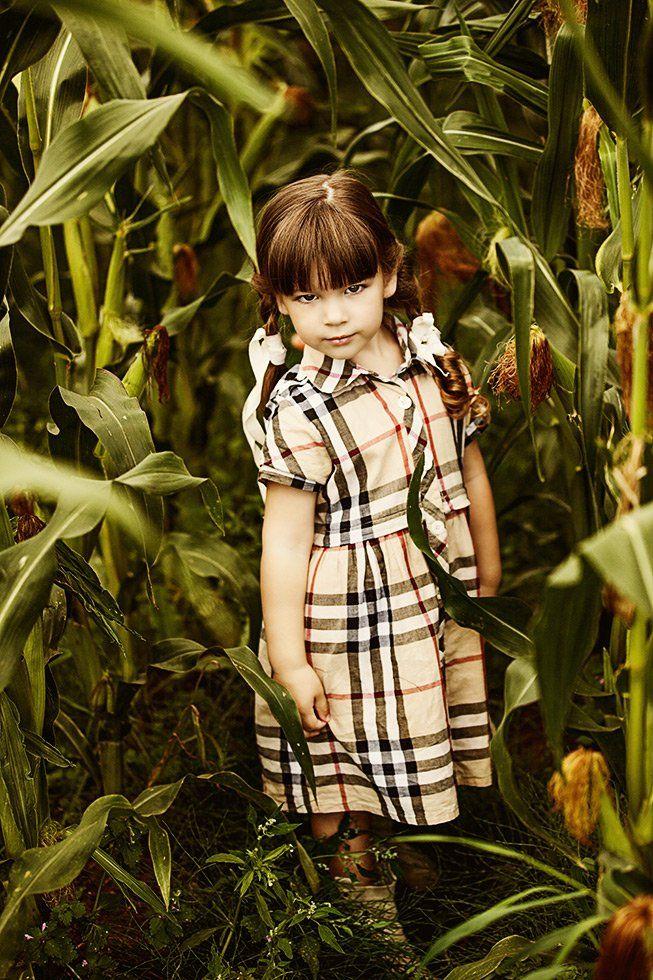 портрет,ребенок,кукуруза,лето, Мария Монастырная