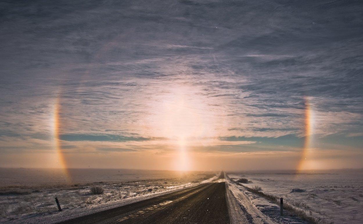 солнце, гало, Андрей Журавлев