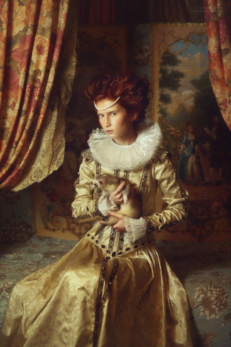 портрет, Диордиева Екатерина