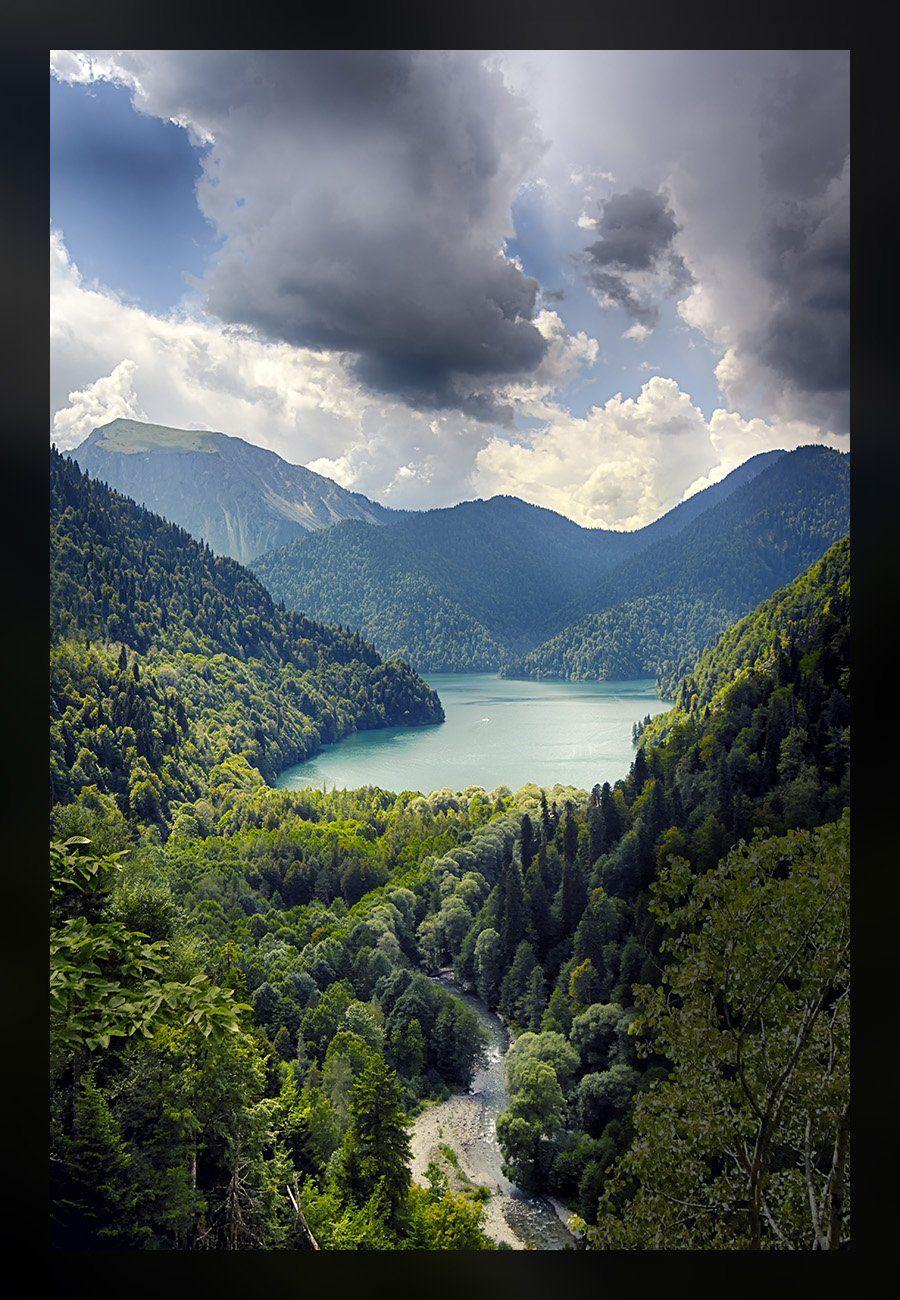 Ritsa Lake Southern Caucasus, Кирилл