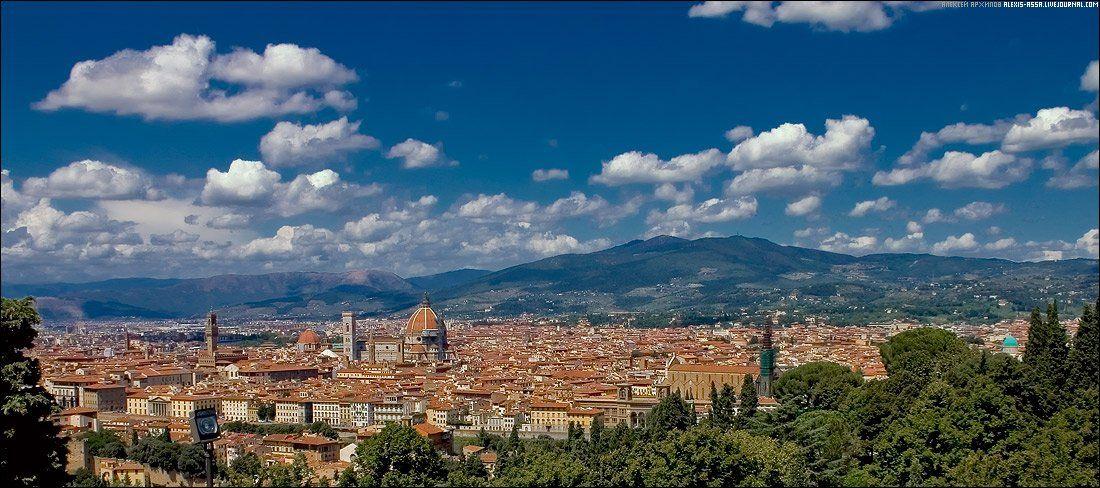 италия, флоренция, город, Alexis Assa