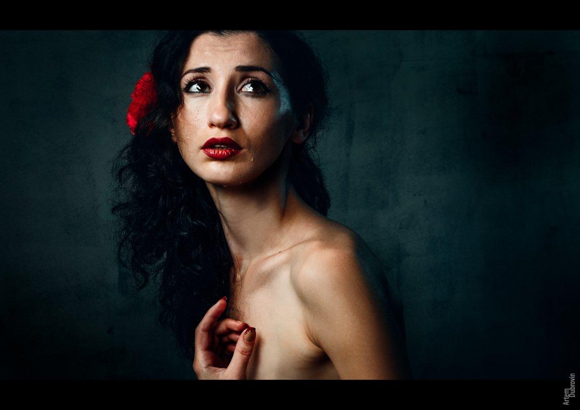 loss, flamenco, woman, женщина, фламенко, потеря, Артём Дубровин