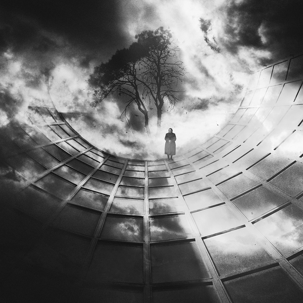 fineart, bnw, creative, montage, art,, Milad Safabakhsh