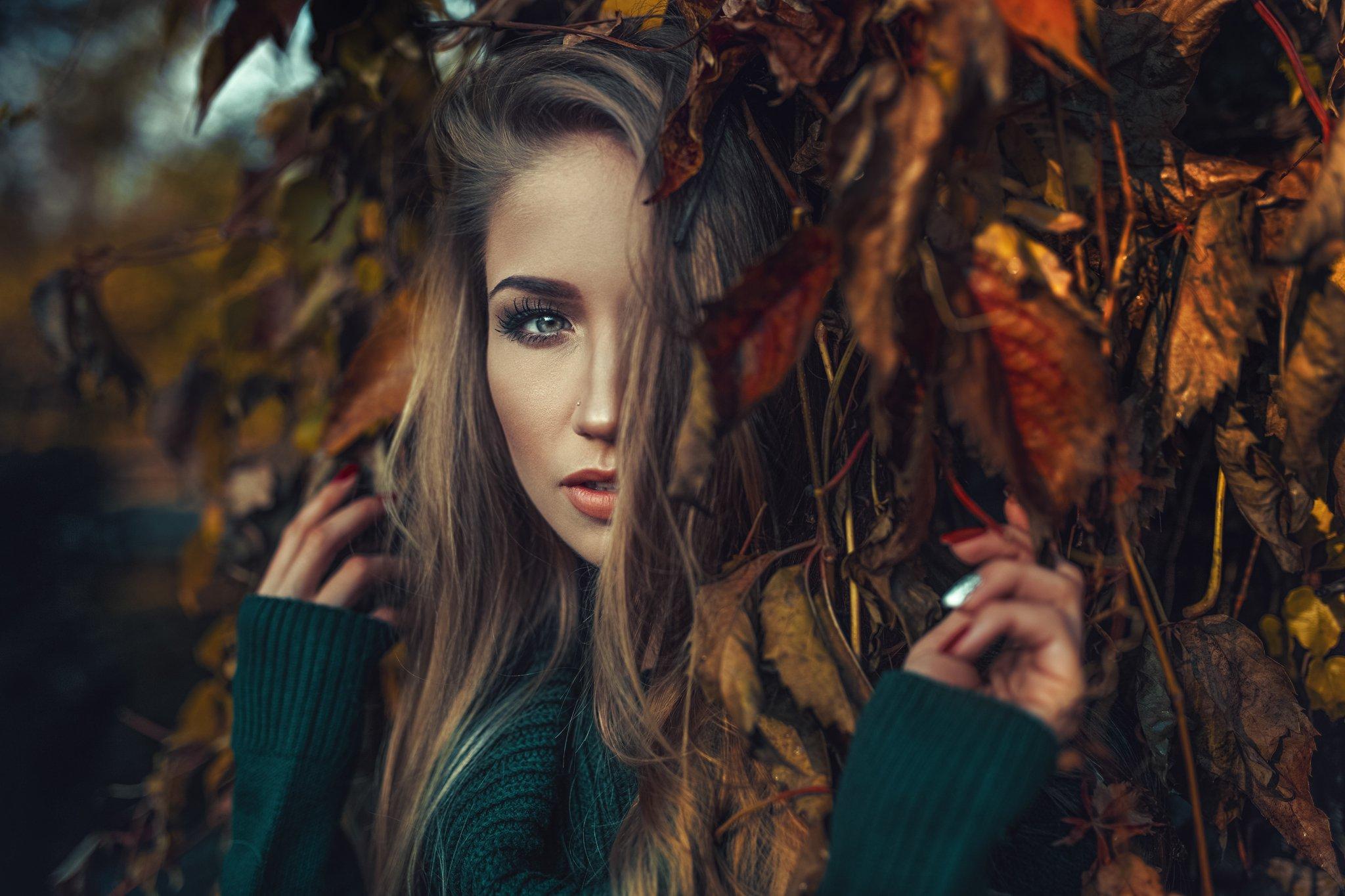 portrait, color, mood, Damian Piórko