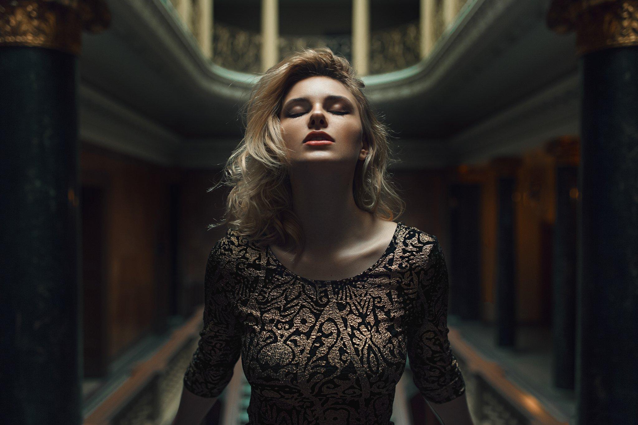 portrait, eyes, beautiful, sexy, polish, poland, canon, sigma, Damian Piórko