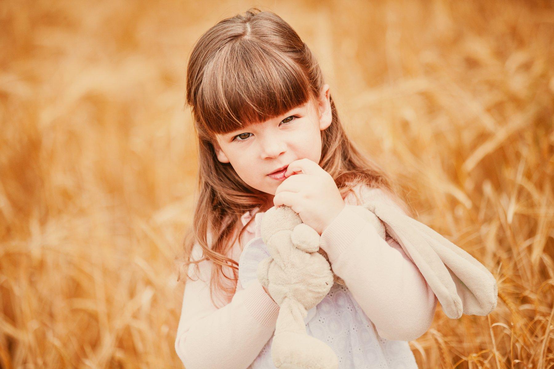портрет,ребенок,лето,пшеница, Мария Монастырная