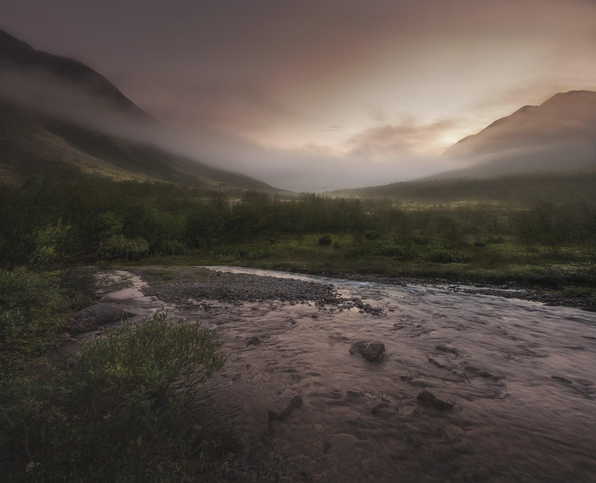 Хибины, Khibiny, North, Кольский Север, закат. северная природаКак хорошо , Анастасия Малых