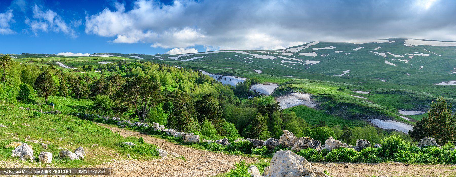 лагонаки, кавказ, заповедник, горы, лето, природа, панорама,, Вадим ZUBR Малышев
