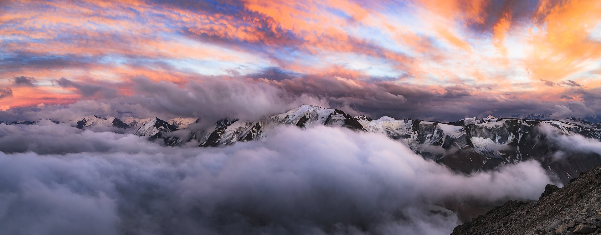 горы, казахстан, алматы, заилийский алатау, Vitaliy Rage