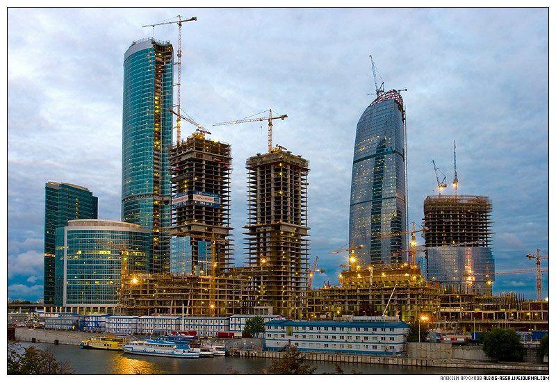 город, москва, строительство, башня, небоскреб, федерация, Алексей Архипов