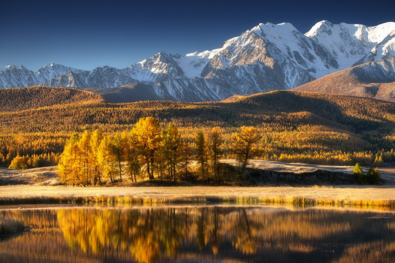 алтай, джангысколь, горы, осень, куркурек, Владимир Ляпин