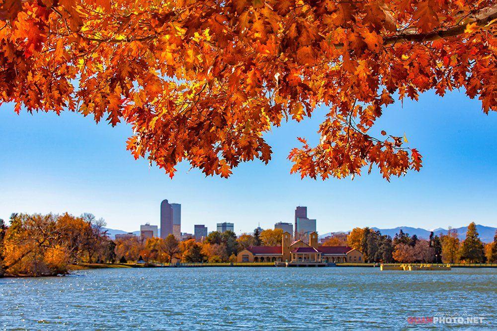 quanphoto, landscape, nature, autumn, fall, lake, city, cityspace, denver, colorado, usa, travel, quanphoto