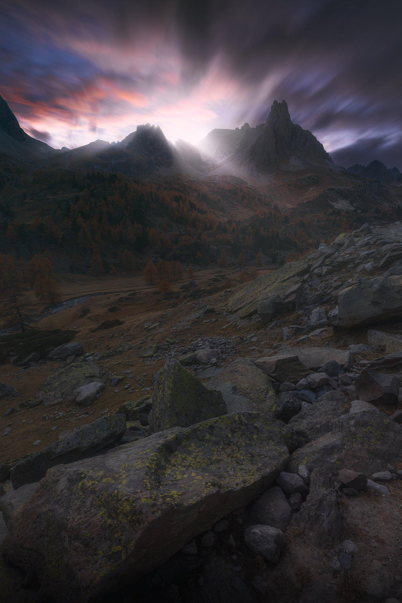 #франция, #france, #alps, #альпы, #горы, #закат, #выдержка, #красивое, #небо, #цвет, #мрачное, #настроение,#атмосфера, Бахышев Сафар
