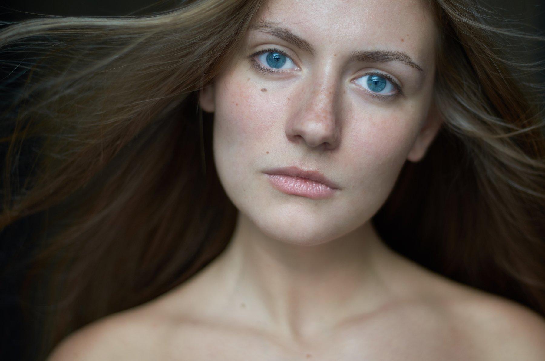 portrait headshot, Крючкова Дарья