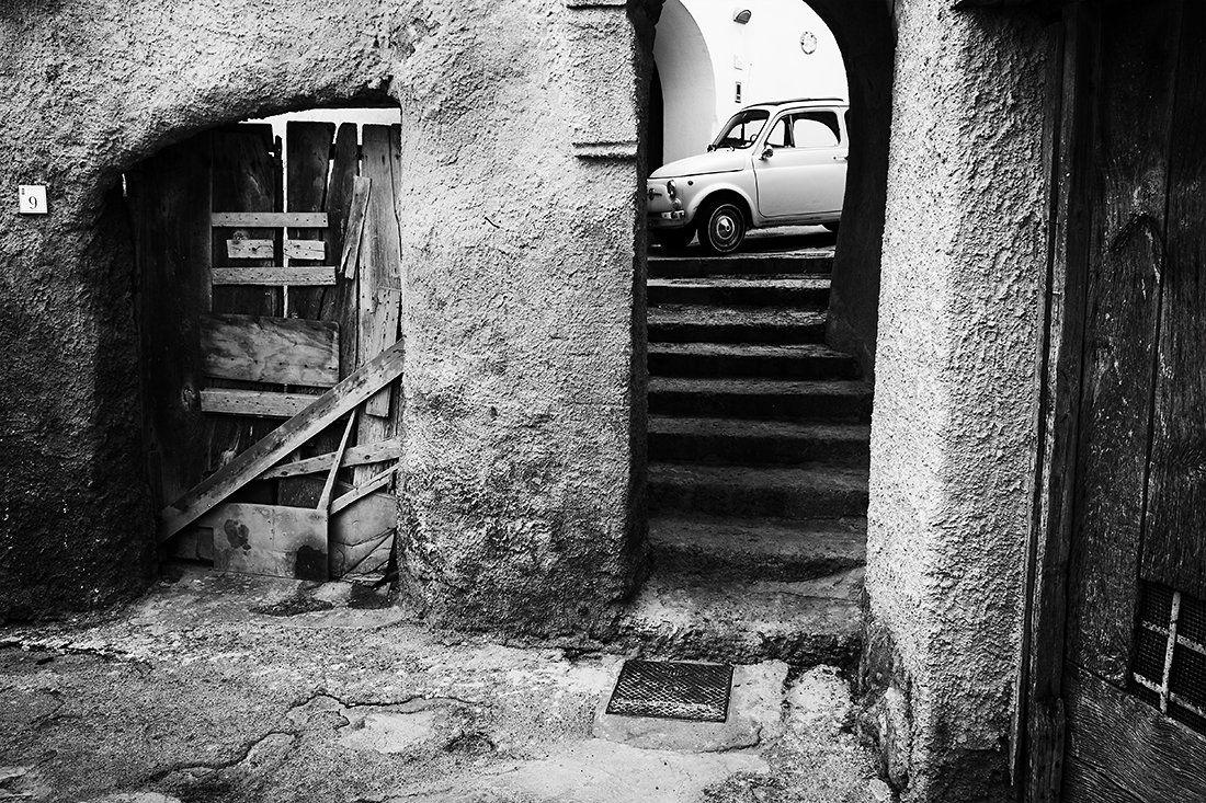 искья италия остров лестница автомобиль феллини, Борис Фотомания